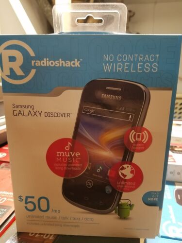 New - Cricket Samsung Galaxy Discover Smartphone