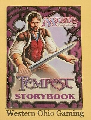 MTG Magic Tempest Storybook from Starter Pack USED