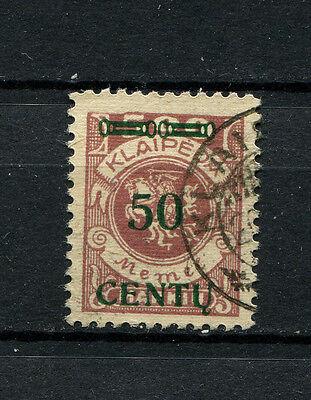 Memel   Nr. 173AI   gestempelt . Tiefst geprüft Petersen   (D-372)