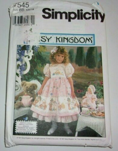 Simplicity Daisy Kingdom 7545 uncut 5-8