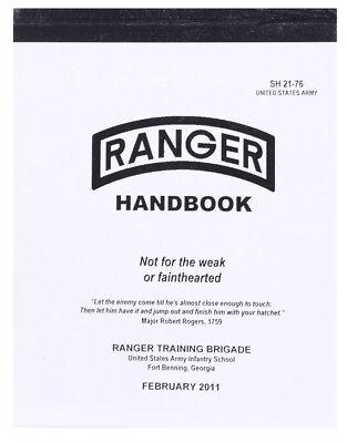 New US Army Ranger Handbook Book Rothco 1400