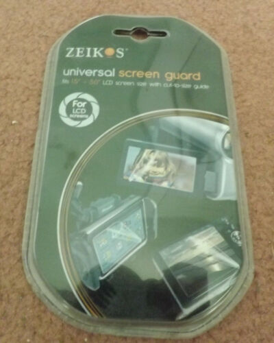 """Zeikos universal screen guard 1.5"""" to 5"""" LCD size NEW"""