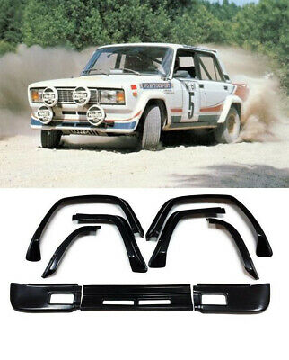 VAZ LADA 2105 2107 Nova Riva VFTS Rally Bodykit fenders + lip widebody KL