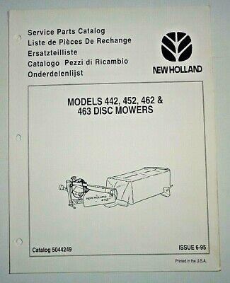 New Holland 442 452 462 463 Disc Mower Parts Catalog Manual Book 695 Original