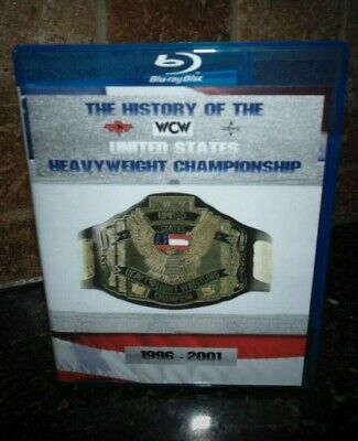 History of the WCW United States Title Championship Blu-ray Best Wrestling