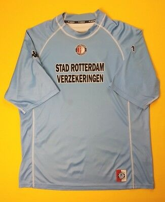Used, 4.4/5 Feyenoord Rotterdam jersey XL 2001 2002 away shirt Kappa soccer ig93 for sale  Shipping to Canada