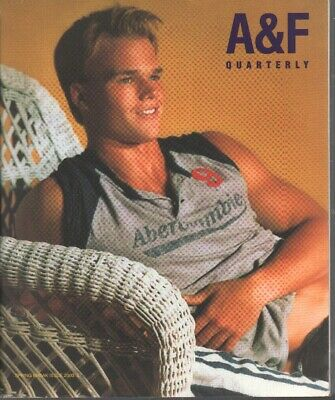 Abercrombie & Fitch Quarterly Catalog Spring Break 2003 BRUCE WEBER 030920AME2