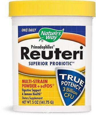 Natures Way Primadophilus  Reuteri Superior Probiotic  5 Oz