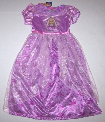 Nwt New Disney Princess Rapunzel Tangled Nightgown Pajamas C
