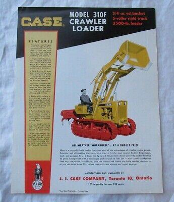 Case 310f Loader Backhoe Specification Sheet Brochure