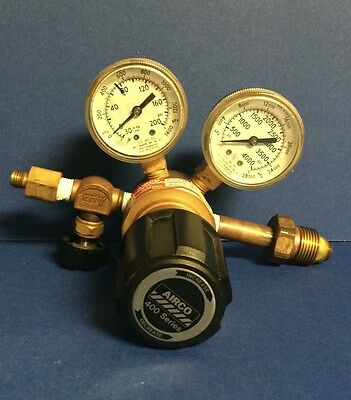 Airco 400 Series Regulator 400-3357 With Gauges  0-4000 Psi