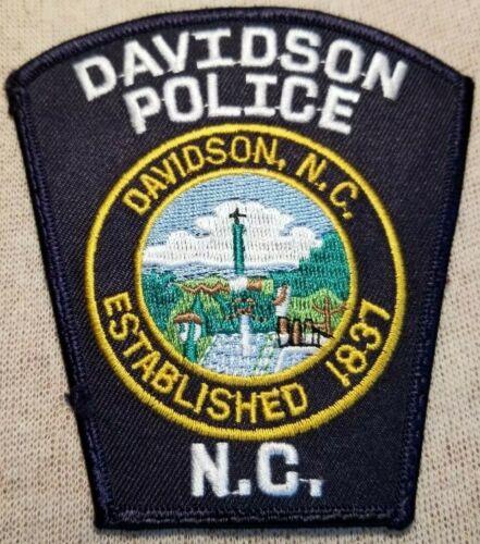 NC Davidson North Carolina Police Patch