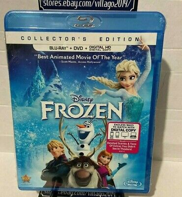 Frozen(Blu-ray+DVD+DigitalHD)Collector's Edition,Best Animated movie of the (Best Animated Blu Ray)