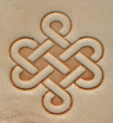 New 2016 Celtic Knot Craftool 3-D Stamp Tandy Leather 8589-00