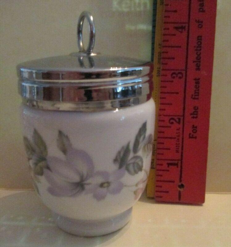 """Royal Worcester Porcelain Double Egg Coddler Cooker 4"""""""