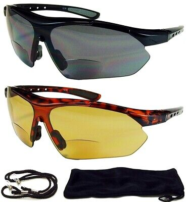 HD BIFOCAL Wrap Around SunGlasses Mens-Womens Glasses Reading 1.50 +2.00 (Wrap Around Shades Glasses)