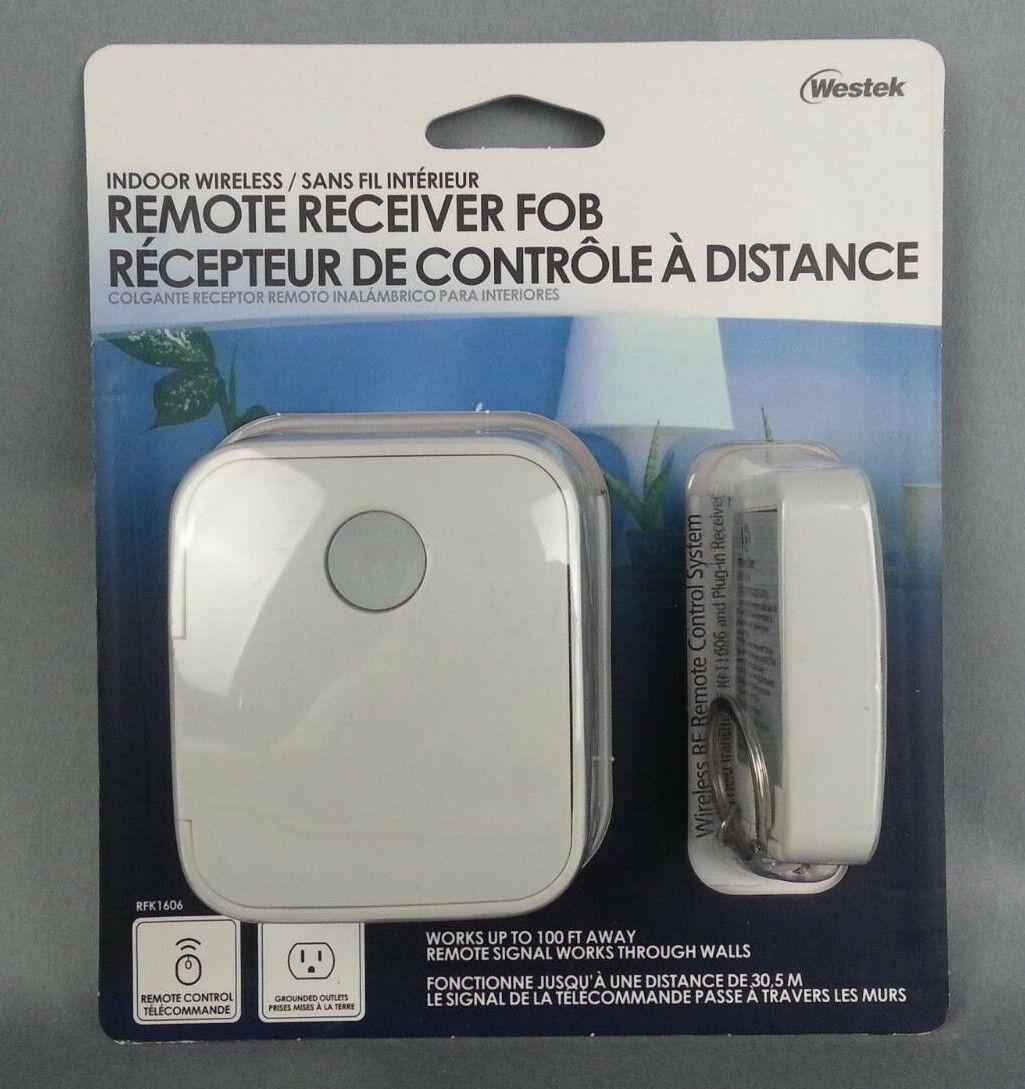 NEW Westek Wireless Remote Receiver & FOB  RFK1606