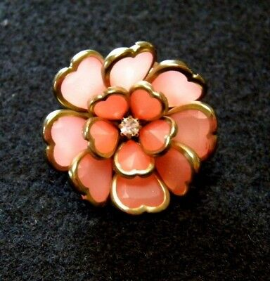Valentines Day Ring Beautiful Flower Adjustable Size Vintage Style Ring