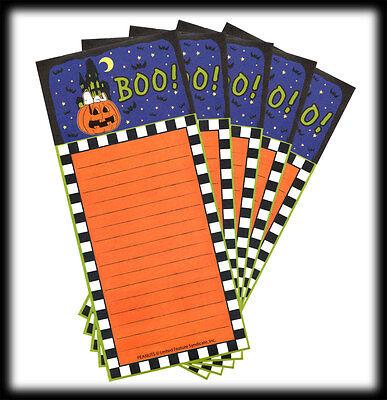 Snoopy TARGET One Spot Peanuts Halloween BOO Jack-O-Lantern Note Sheets