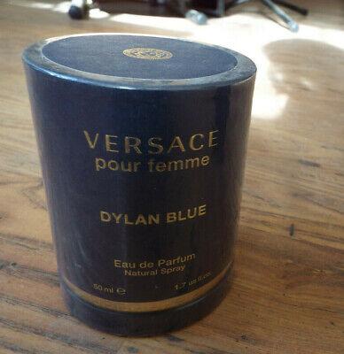 Versace Pour Femme Dylan Blue 50ml Eau De Parfum NEW