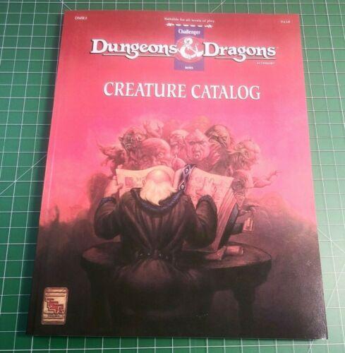 DMR2 Creature Catalog - Dungeons & Dragons