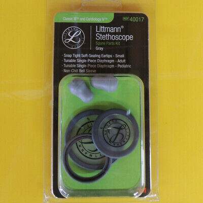 40017 3m Littmann Stethoscope Spare Parts Kit Classic Iii - Gray