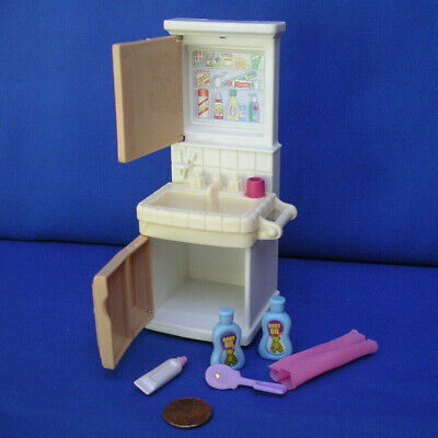 Fisher Price Loving Family Dollhouse Furniture Bath room sink accessory set/lot