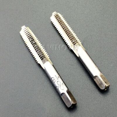 12-28 UNF Hand Tap Plug GH3 Limit 4 Flute HSS Plug Chamfer Bright Screw Thread