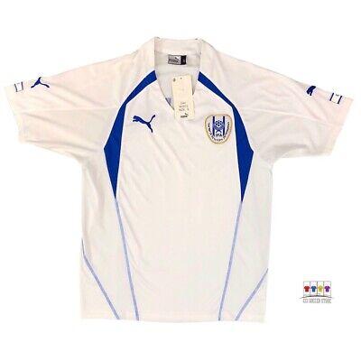 NWT Israel 2004/06 International Home Soccer Jersey Small Puma image