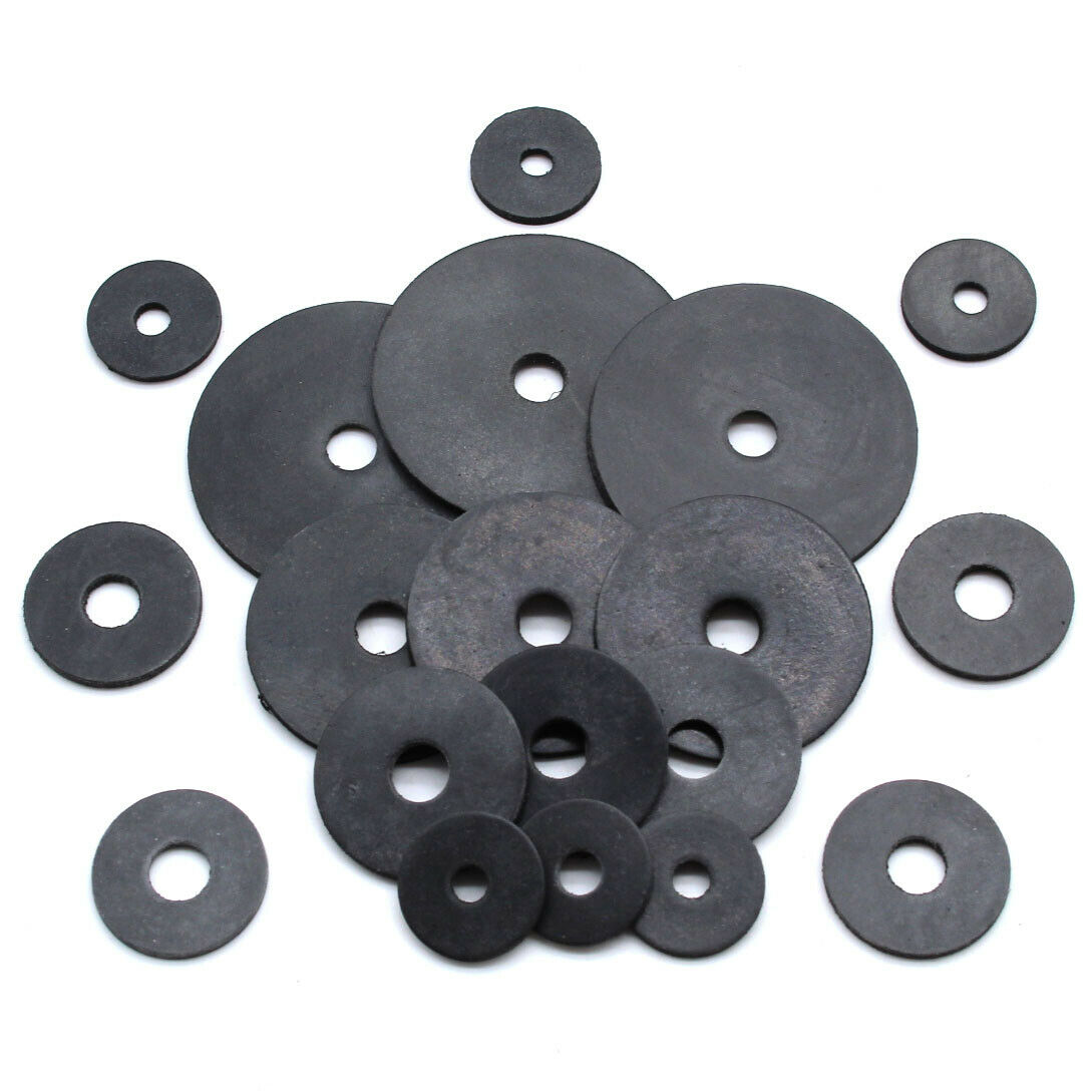 M6 BLACK Plastic washers pack of 25 FREE POST !!