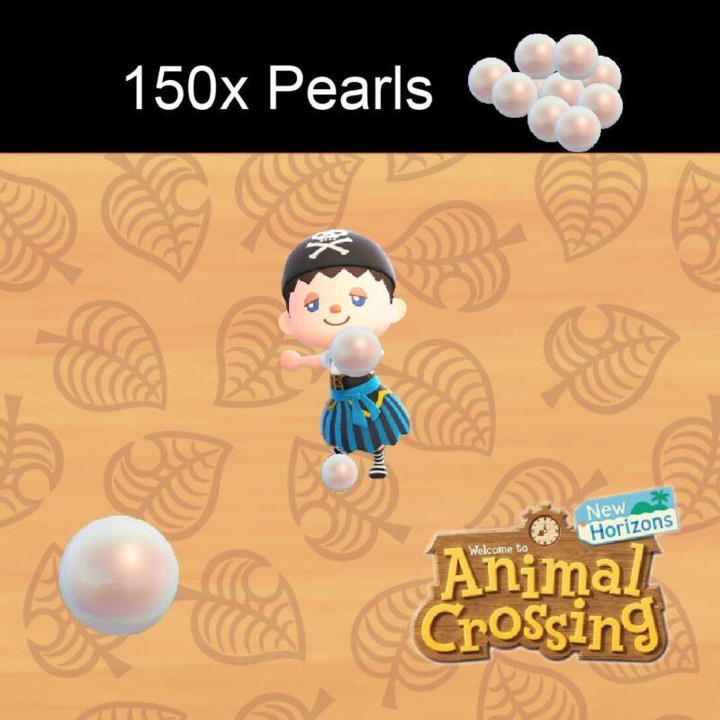 ACNH | 150 Pearls 🦋 For Mermaid DIYS🐚🔥