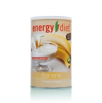 ENERGY DIET HD MEAL REPLACEMENT SLIM PROGRAM DIET BANANA FLAVOUR