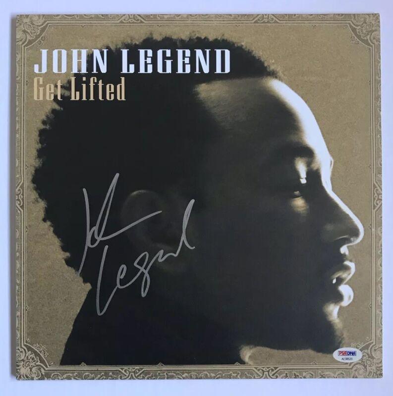 John Legend Signed Get Lifted  LP  Album PSA/DNA #AE98520 Auto Vinyl