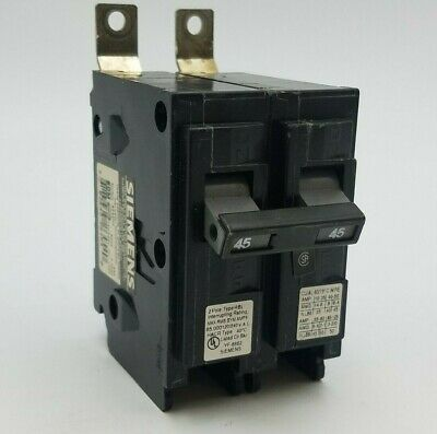 Siemens HED43B060 3 Pole 60 Amp 480V Bolt-On Circuit Breaker New Pullout