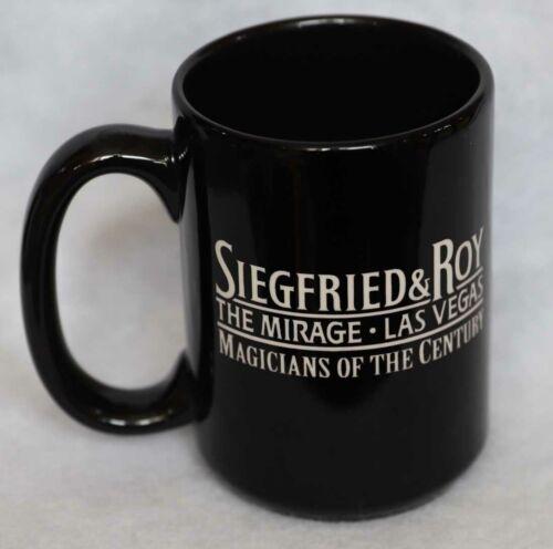 SIEGFRIED & ROY MIRAGE LAS VEGAS VINTAGE COFFEE CUP MUG COLLECTIBLE