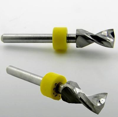 .252 6.40mm Carbide Drill Bit 18 Shaft Kyocera Us Cnc Wood Metal Plastic Rs