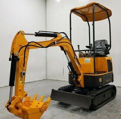 Demo 2020 Packer Brothers Mini Excavator 1.5-ton Yanmar 21hp 3tnv70 8 Hours