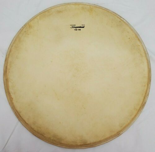 vintage 16 inch Slingerland drum calf head Tom Tom Drum - NOS