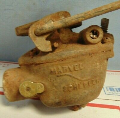 Vintage Marvel Schebler Carburetor Tsx 231 549 Tractor Minneapolis Moline Allis