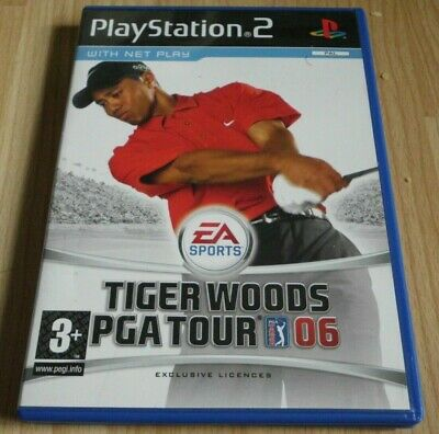 Tiger Woods PGA TOUR 06...Playstation 2 Game for sale  Shipping to Nigeria