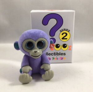 TY Beanie Boos Mini Boo SERIES 2 Collectible Figure - BLUEBERRY Monkey (2 inch)