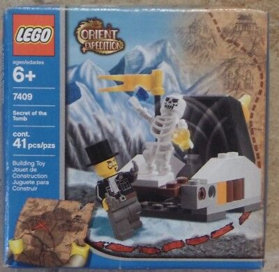 Lego Orient Expedition 7409 Secret of the Tomb (41 pcs) NEW MISP 2003 SEALED