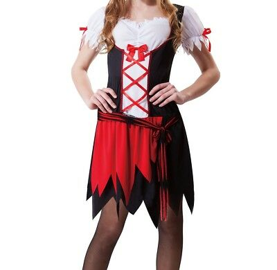 Totally Ghoul Pretty Pirate Women's Halloween Costume Dress Adult One Size #R26