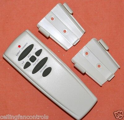 Hampton Bay Wireless Remote Control UC7078T Reverse with two wall holders ()