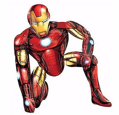 Avengers Gliding Iron Man 3D AIRWALKER Balloon Birthday Party Decoration AWK 46