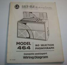 Rock Ola 464 Jukebox Phonograph Music Schematic Wiring ...
