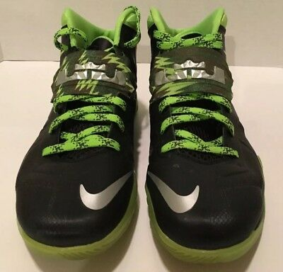 san francisco d4f1c f8650 Nike Air Zoom Soldier VII Lebron James Mens Sz 10.5 Basketball Shoes 609679  004