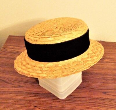 Peck & Peck Straw Hat