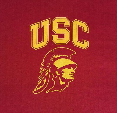 - USC Trojans Logo Large T Shirt NWOT NEW Football NCAA University INV1809