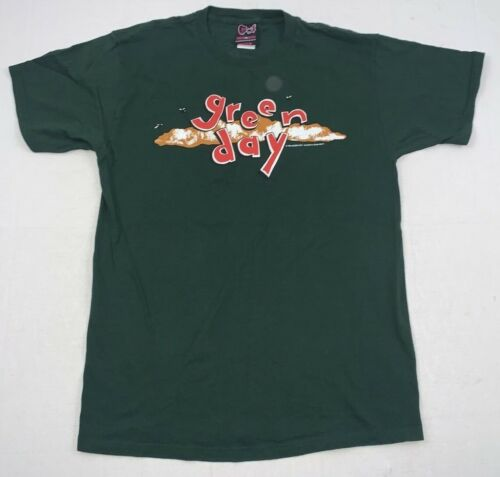 green day dookie cinder block reprint 2-sided ss t-shirt sz large